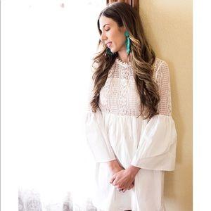 Endless Rose white mini dress